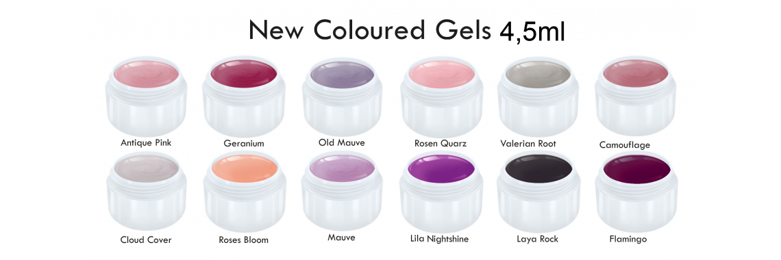 Best German Quality NEW! Colourgels / Farb-Gele
