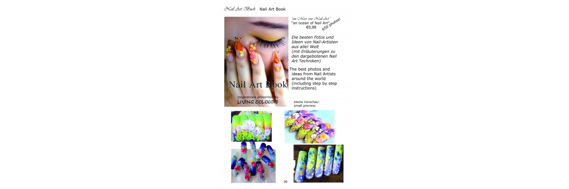 Be inspired by our Nail Art Book / Lassen Sie sich inspirieren
